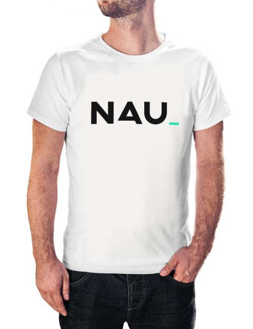 simple nau t shirt