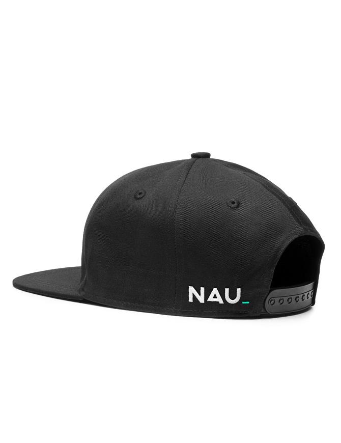 NAU Black Snapback